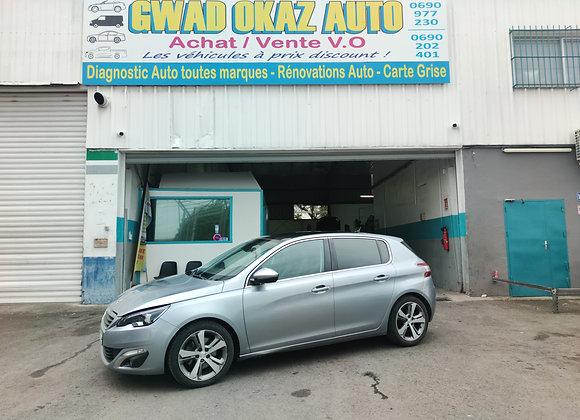 PEUGEOT 308 2,0l HDI 150cv ( BOITE AUTO/TOIT PANO/2016)