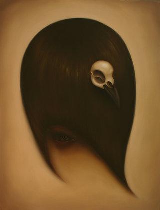 raven hair print