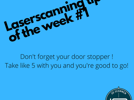 Laserscanning tip van de week #1