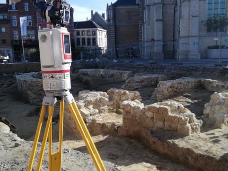 Ik wil een gebouw opmeten. Deel 4 : met een laserscanner!