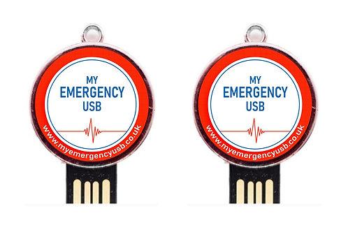 My Emergency USB Twin Pack