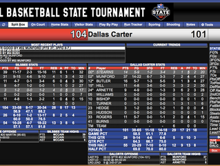 UIL 4A State Championship Game: Silsbee (29-8) vs Dallas Carter (32-5)