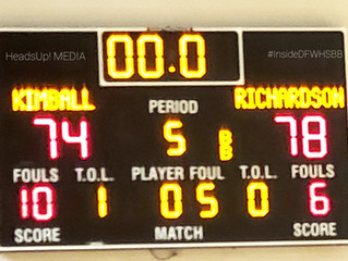#6 Richardson travels to Oak Cliff For A Showdown With #18 Dallas Kimball THAT WENT INTO OVERTIME!