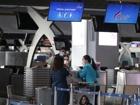 Trasporto aereo: distanziamento e mascherina, linee guida Ue
