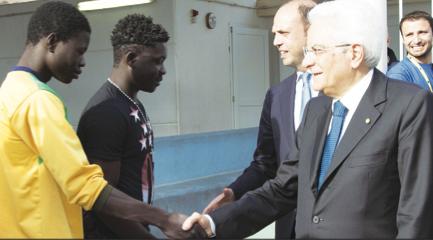 """Mattarella a Lampedusa inaugura il museo della """"fiducia"""""""
