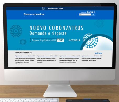 Covid-19: oltre 2 milioni di visualizzazioni sul portale dedicato al nuovo coronavirus ...