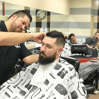 Emanuele Tamayo a.k.a Manny is the owner and operator of Altered Image Barbershop. The Altered Image Barbershop brand was established back in 2015 when Manny decided to branch off and follow his dreams to own his own barbershop. Manny has always had a passion for cutting hair and decided to go barber school in 2012 and get his barber license. Since then he has been honing his skills to create top notch haircuts to please his clienteleto the highest of standards.  Favorite haircut - Bald Fade Pompadour