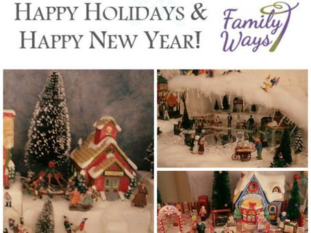 Happy Holidays & Happy New Year!