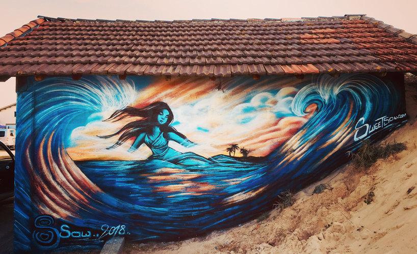 Ocean Goddess in Contis