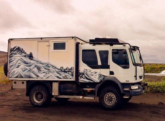 Camion Graffé