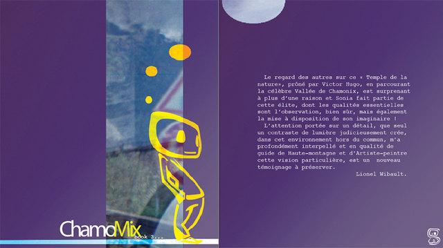 ChamoMix Book - 3 Carnet de Voyage