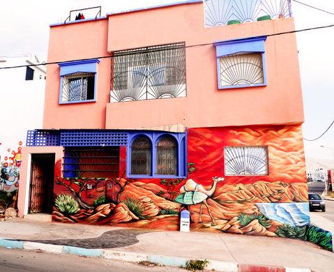 Imsouane Graffiti