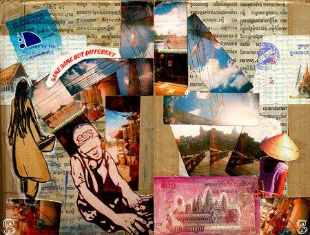 Cambodge Vitenam couverture du carnet