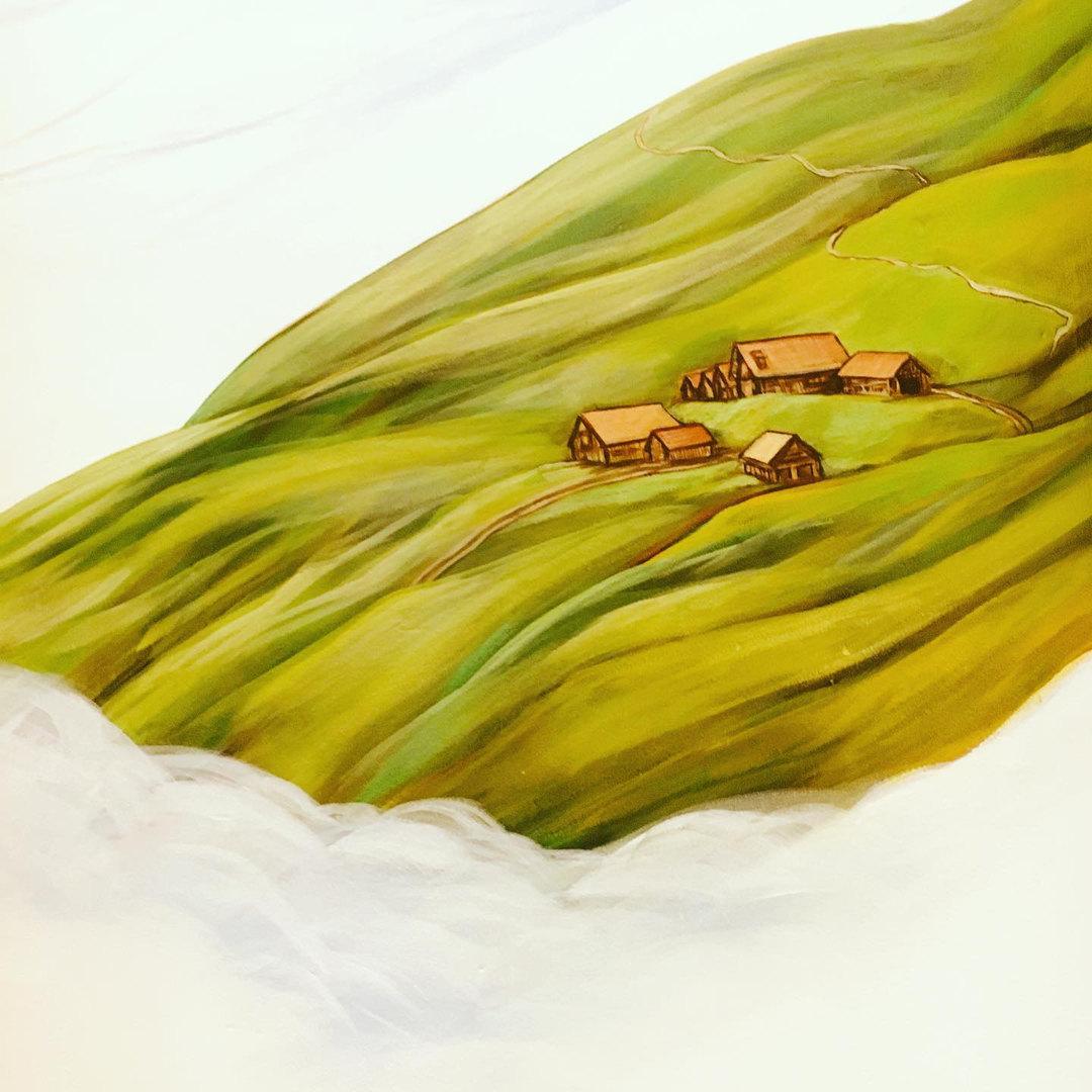 Fresque Grand Roc - Alpage