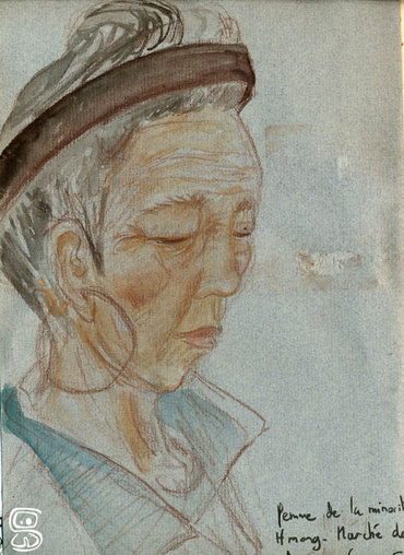 Vietnam - Ha Mong Tribu