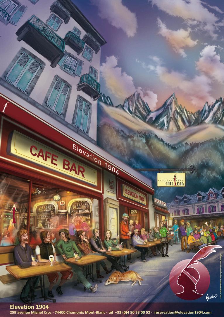 Bar Restaurant l'Elévation 1904