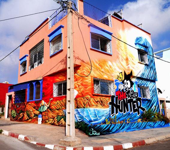 Imsouane Graffiti Surf Art