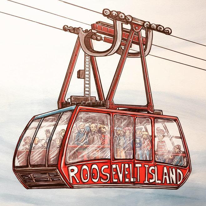 Le Roosvelt Island de New York - Mais où est Charlie ?