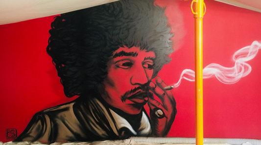Jimi Hendrix Linxy Lady