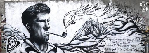 Rebuffat Graff in Chamonix