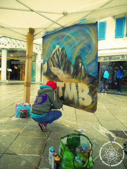 L'UTMB Graffiti