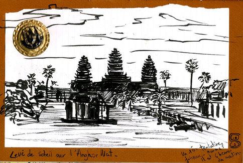 Cambodge Angkor Watt