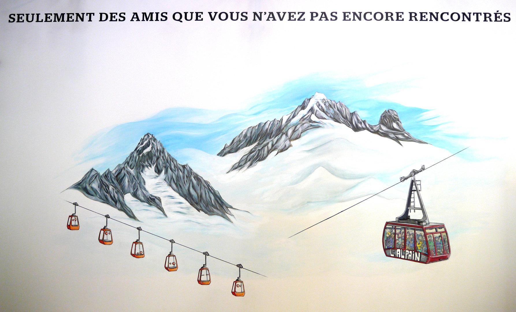 Fresque de l'Alpain