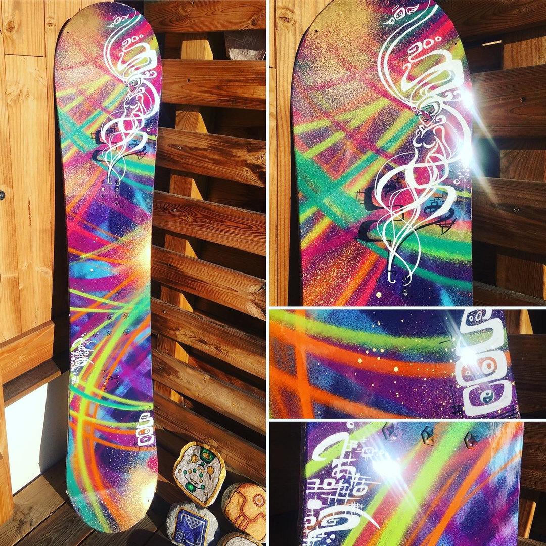 Lady Pow Snowboard