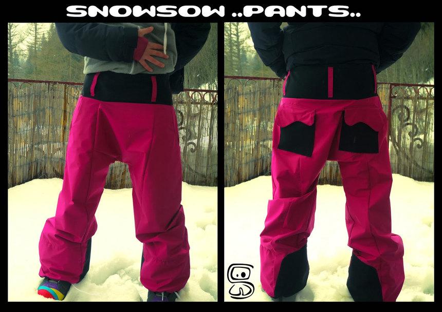 Pantalon de ski - snowboard en Gore Tex