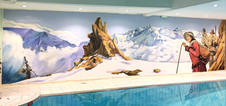 Fresque des Blacons du Savoy