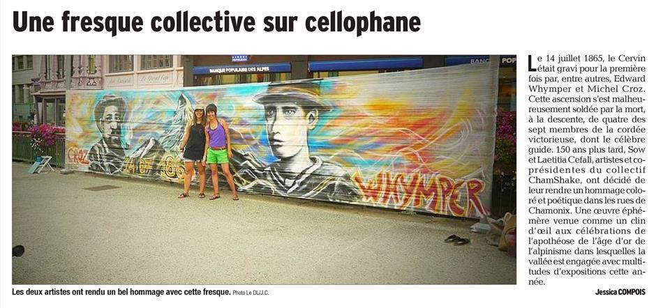 CelloGraff pour L'Art est Publique