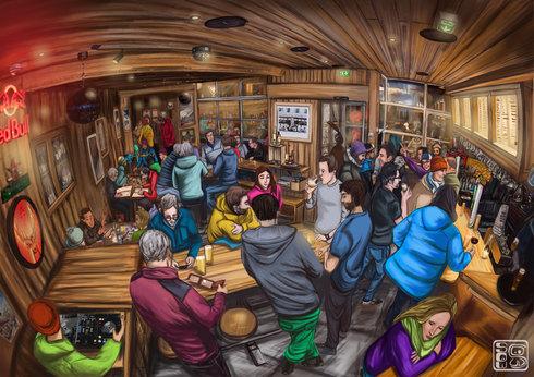 Bar restaurant l'Élévation 1094