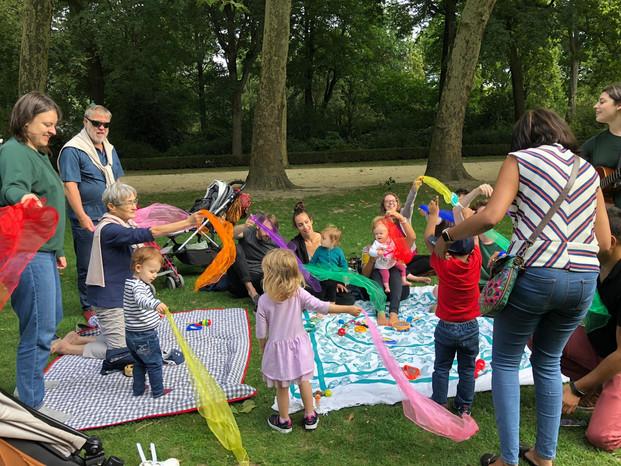 Summer Park Session, Parc du Cinquantenaire, Brussels
