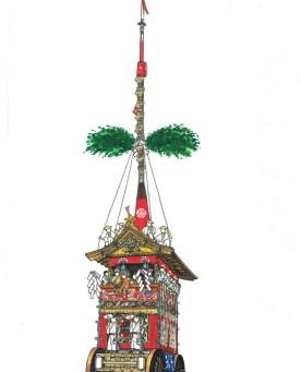 祇園祭【山鉾ご利益】一覧