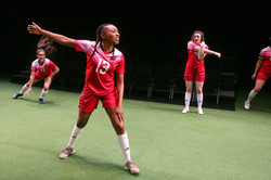 Cast of The Wolves at Syracuse Stage (photo by Michael Davis)