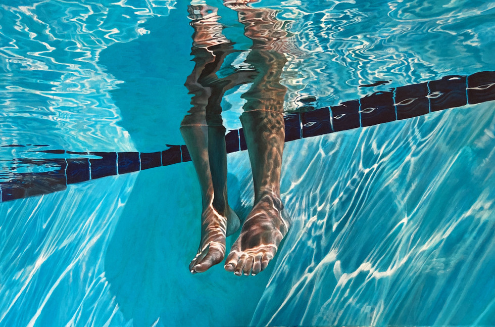 legs // acrylic on canvas 36x24in