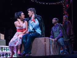 Emily Shackelford in The Fantasticks at Kansas City Repertory Theatre (photo by Don Ipoc)