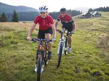 Mountainbiken am Mirnok