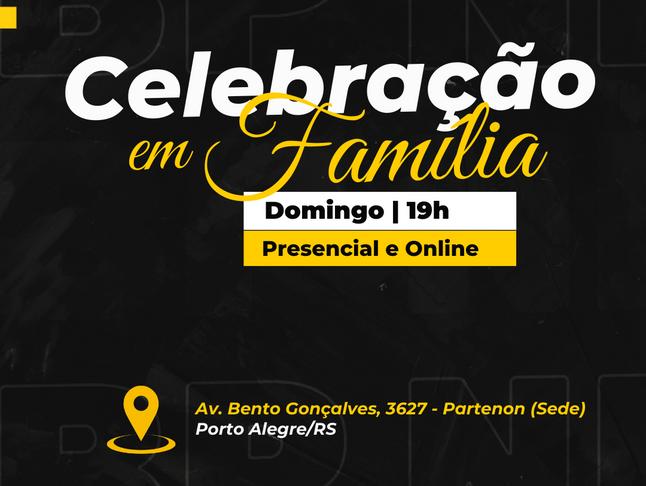 Celebração em Família