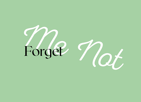 Forget Me Not Wax Melts
