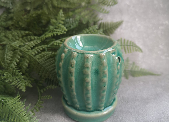 Small Cactus Burner (Jade Green)