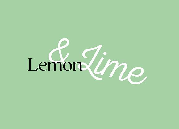 Lemon & Lime Wax Melts