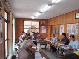 平成29年度第1回理事会が開催されました。