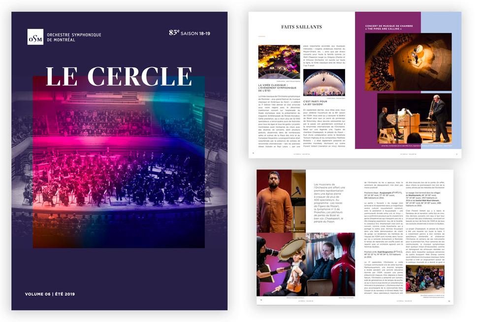 E-Magazine Le Cercle