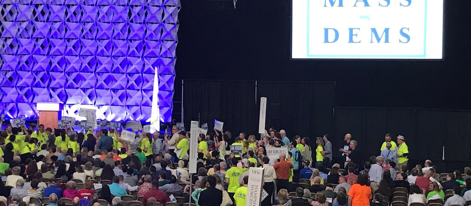 Wellesley delegates attend the 2018 convention