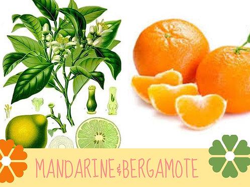Chandelle kodo Mandarine&Bergamote