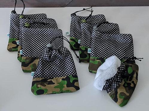 Pochette/Mitaine camouflage