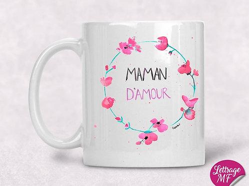 "Tasse ""Maman d'amour"""