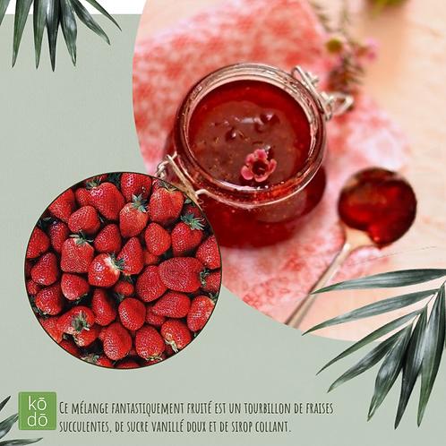 Chandelle kodo Confiture aux fraises