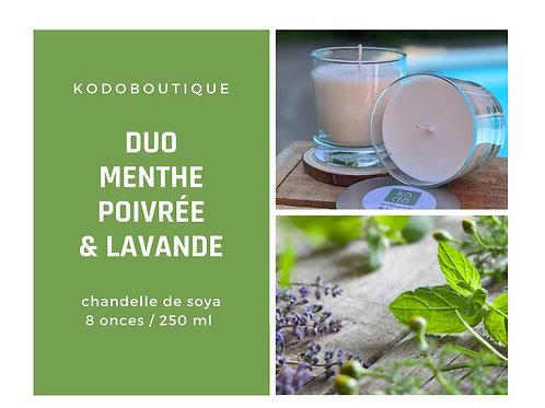 Duo Menthe Poivrée & Lavande